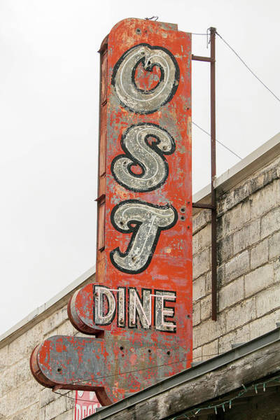 Capital Of Texas Wall Art - Photograph - Old Spanish Trail Diner by Art Block Collections