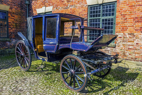 Stagecoach Photograph - Old Stagecoach by Ian Mitchell
