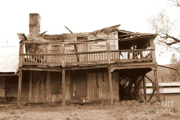 Old Stagecoach Stop Art Print