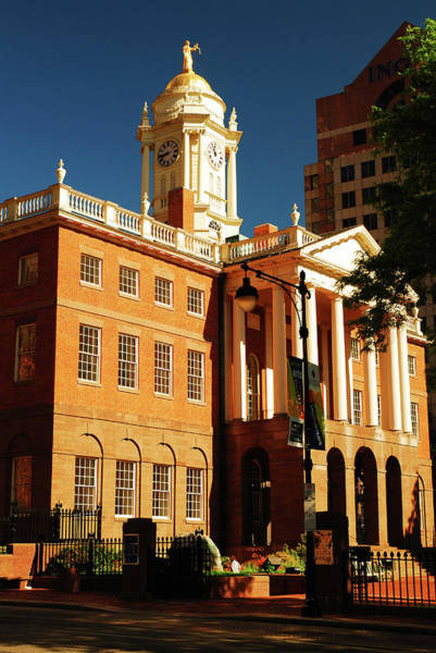 Conn Wall Art - Photograph - Old State House by James Kirkikis