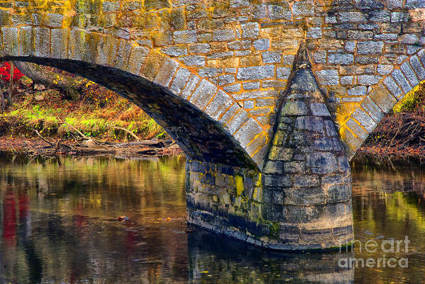Wall Art - Photograph - Old Stone Bridge by Paul W Faust - Impressions of Light