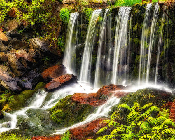 Photograph - Old Stone Dam by John Vose