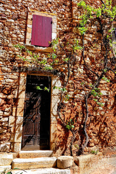 Wall Art - Photograph - Old Stone House In Provence by Olivier Le Queinec