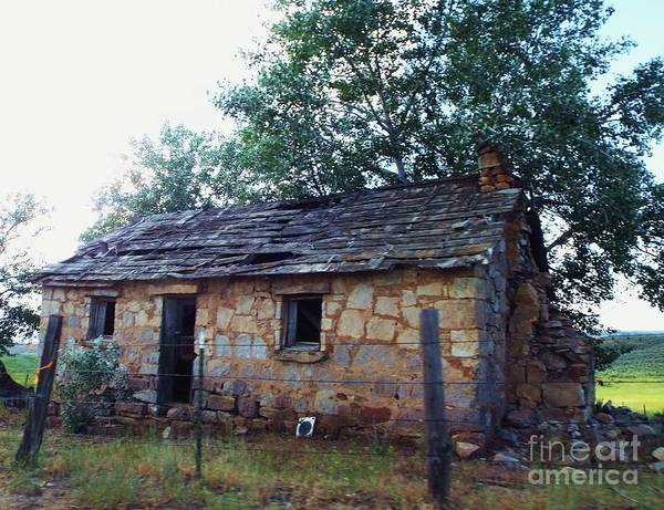 Photograph - Old Stone House by Julie Rauscher