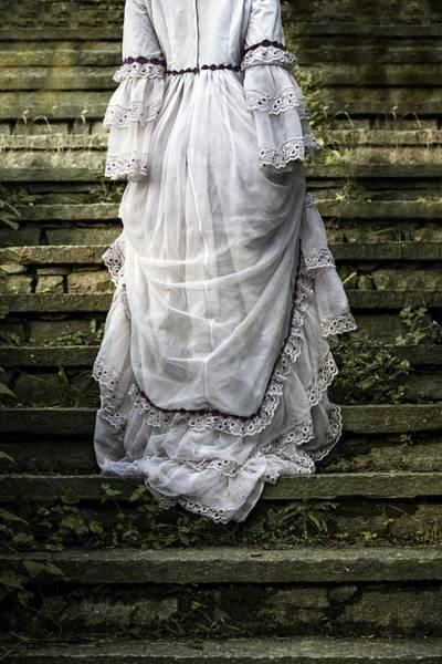 Beautiful Woman Photograph - Old Stone Stairs by Joana Kruse