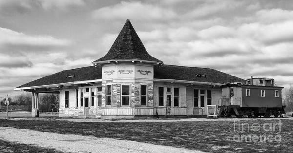 Photograph - Old Sturtevant Hiawatha Depot by Ricky L Jones
