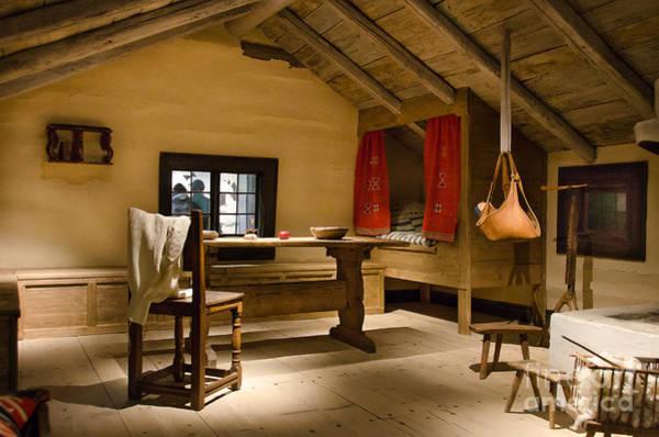 Photograph - Old Swedish Farm House Interior by RicardMN Photography