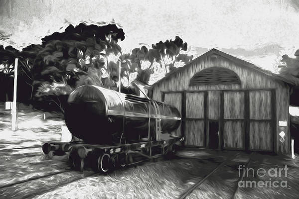 Wall Art - Photograph - Old Tanker Train Carriage Fine Art by Jorgo Photography - Wall Art Gallery