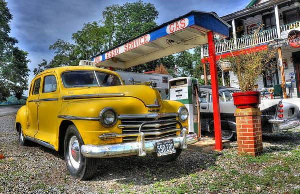 Wall Art - Photograph - Old Taxi 1 by Todd Hostetter