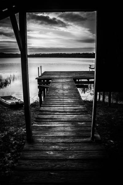Photograph - Old Time Dock. by Parker Cunningham