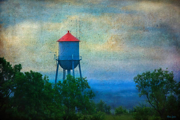 Photograph - Old-time Water Tower by Anna Louise