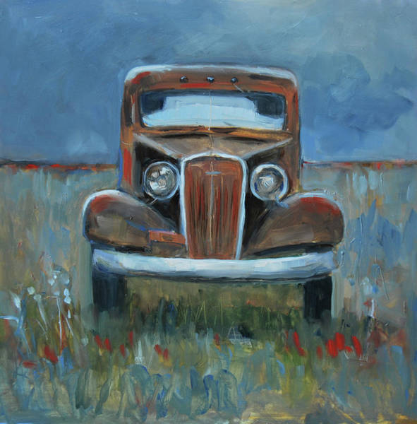 Collector Car Painting - Old Timer by Billie Colson