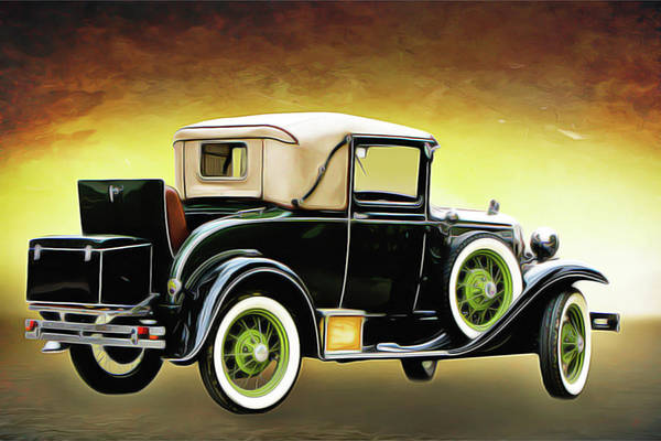 Painting - Old Timer by Harry Warrick
