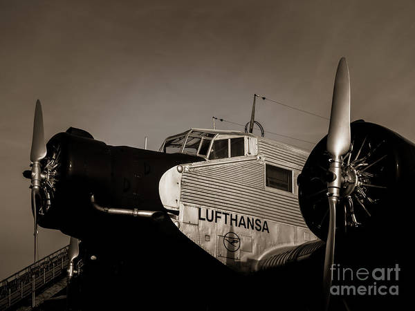 Ju 52 Wall Art - Photograph - Old Times  by Juergen Klust