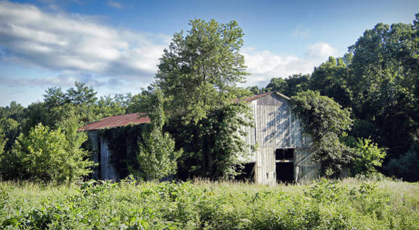 Photograph - Old Tobacco Barn by Cricket Hackmann