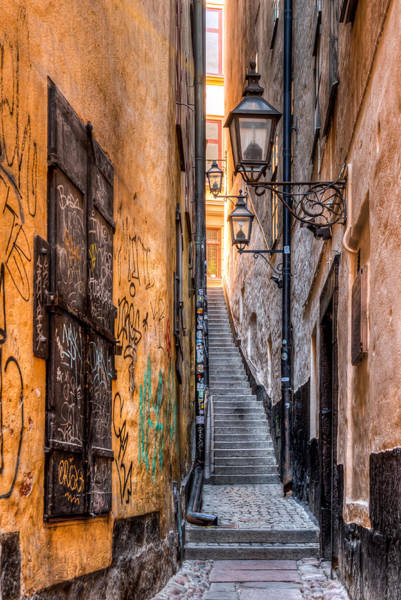 Wall Art - Photograph - Old Town Alley 0050 by Kristina Rinell