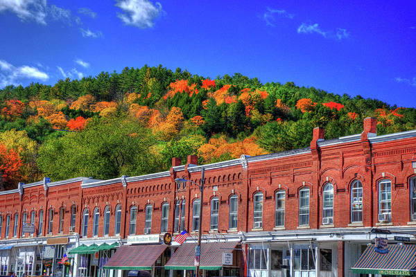 Photograph - Old Town Americana In Fall - South Royalton, Vt by Joann Vitali