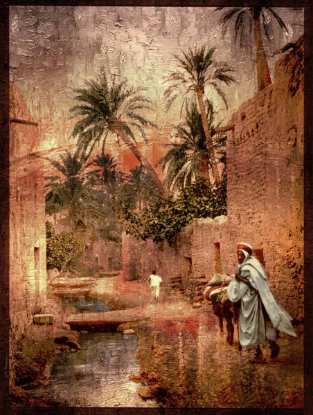 Photograph - Old Town Biskra by Carlos Diaz