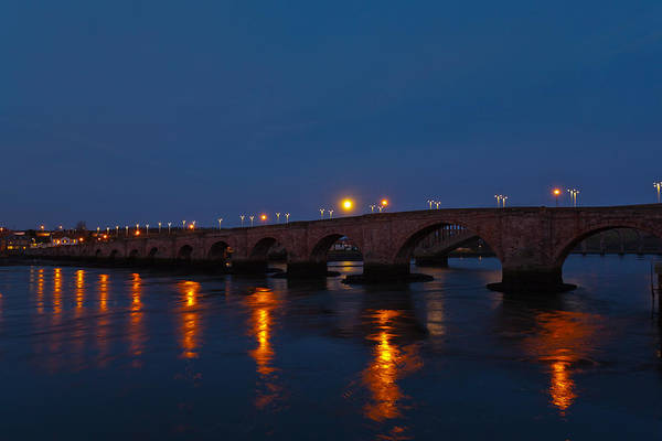 Berwick Upon Tweed Photograph - Old Town Bridge by Gary Finnigan