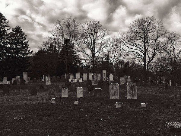 Photograph - Old Town Cemetery , Sandwich Massachusetts  by Frank Winters