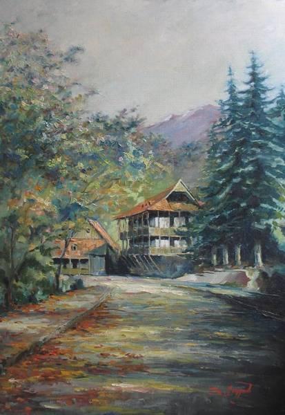 Painting - Old Town Dilijan by Tigran Ghulyan