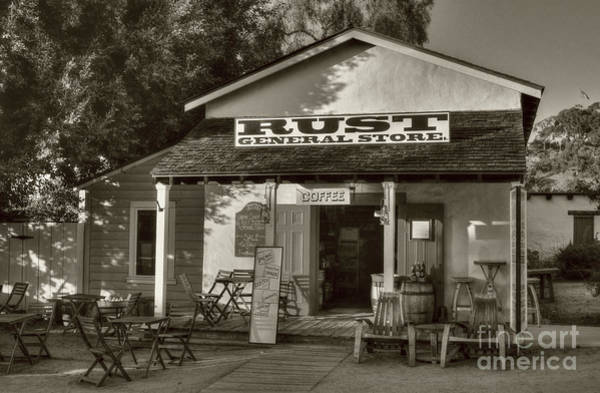 Photograph - Old Town General Store Sepia Tone by Mel Steinhauer