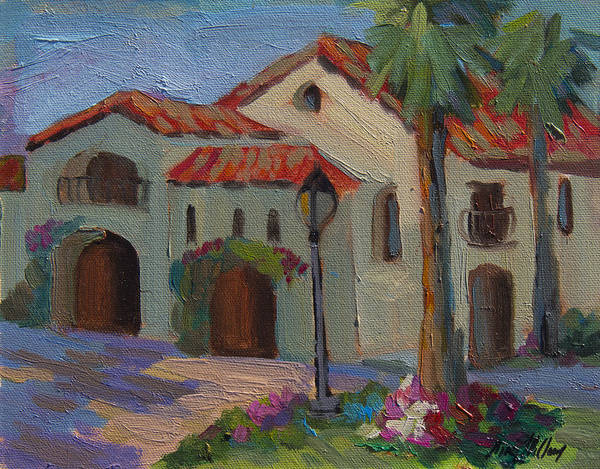Wall Art - Painting - Old Town La Quinta Afternoon by Diane McClary