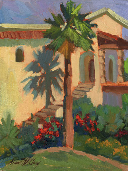 Wall Art - Painting - Old Town La Quinta Palm by Diane McClary