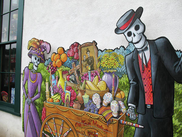 Photograph - Old Town Market Mural San Diego by Connie Fox
