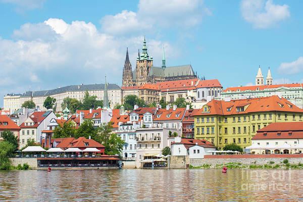 Wall Art - Photograph - Old Town Prague Skyline by Juli Scalzi