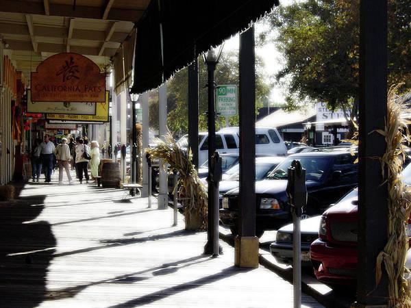 Photograph - Old Town Sacramento by Lee Santa