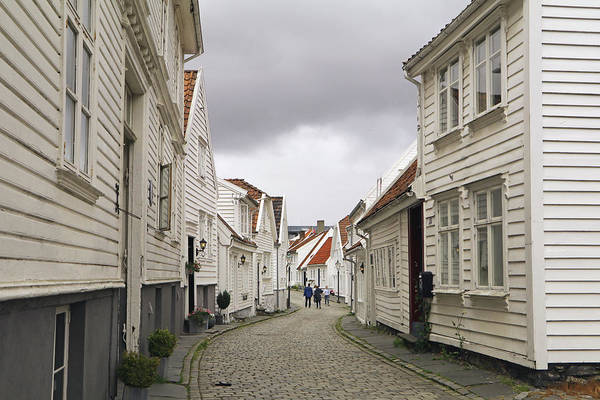 Photograph - Old Town Stavanger by Tony Murtagh