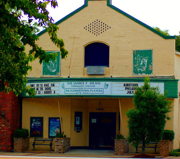 Photograph - Old Town Theater by Donna Bentley