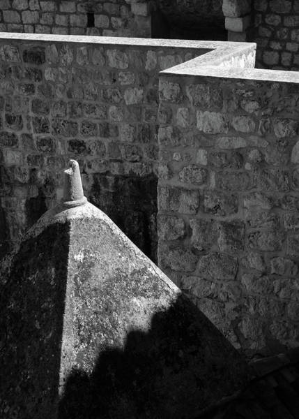 Dubrovnik Photograph - Old Town Walls by Dave Bowman