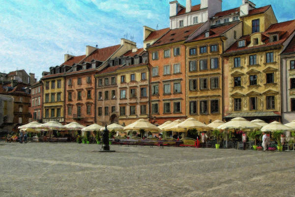 Painting - Old Town Warsaw - Pol966149 by Dean Wittle