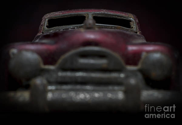 Photograph - Old Toy Car by Art Whitton