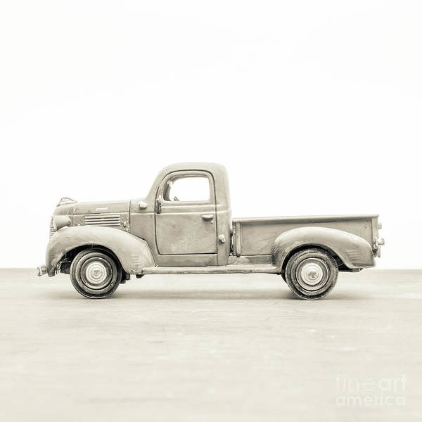 Wall Art - Photograph - Old Toy Truck by Edward Fielding