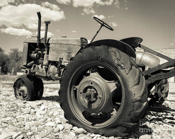 Photograph - Old Tractor Outside Of Bryce Canyon Utah by Edward Fielding