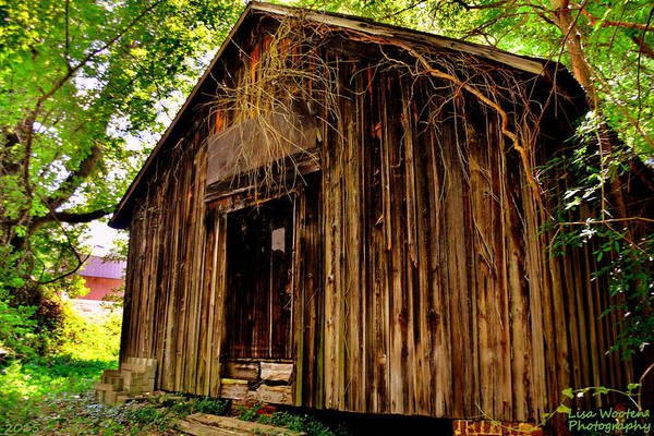 Photograph - Old Train Depot 2 by Lisa Wooten