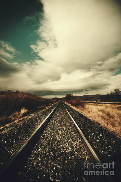 Wall Art - Photograph - Old Train Track by Jorgo Photography - Wall Art Gallery