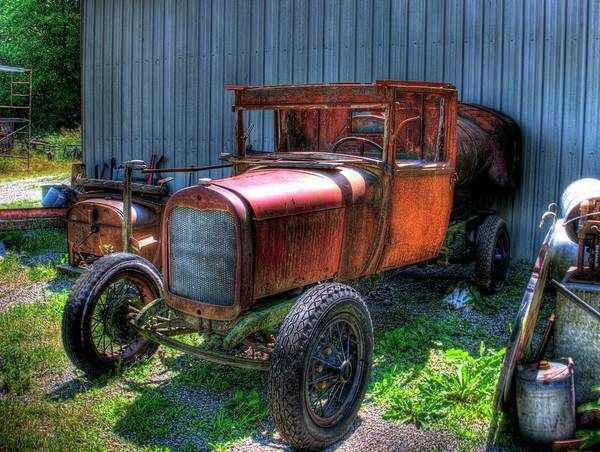 Photograph - Old Truck 4 by Lawrence Christopher