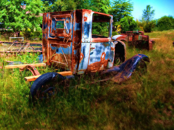 Photograph - Old Truck 8 Ready To Roll by Lawrence Christopher