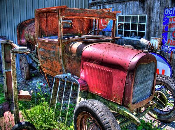 Photograph - Old Truck 9 by Lawrence Christopher