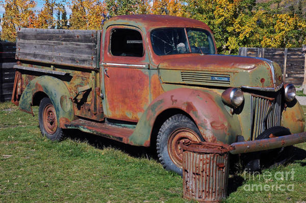 Photograph - Old Truck by Cindy Murphy - NightVisions
