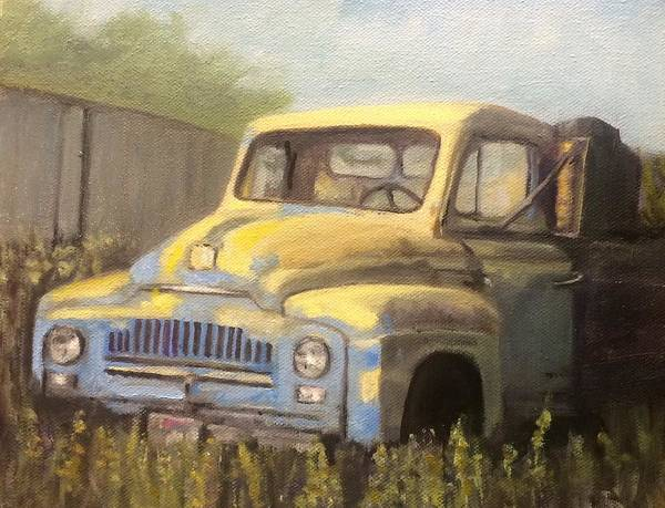 Painting - Old Truck by Dennis Sullivan