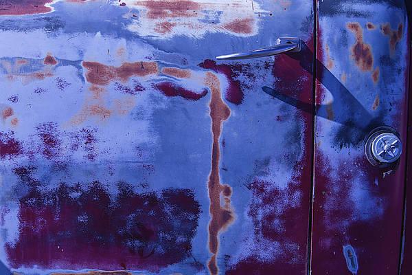 Wall Art - Photograph - Old Truck Door by Garry Gay
