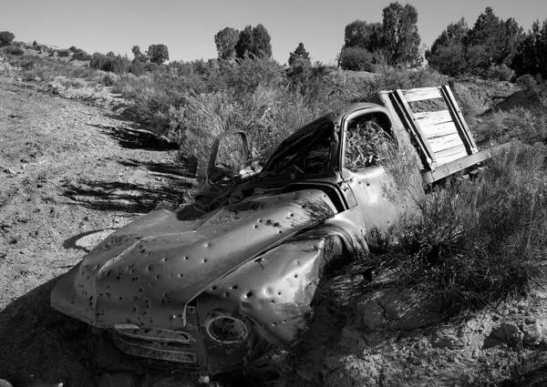 Photograph - Old Truck by Mark Smith