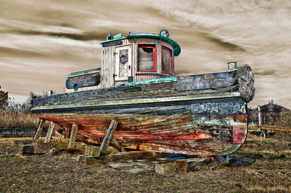 Photograph - Old Tug by Steve Zimic