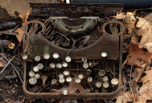 Photograph - Old Typewriter by Ohio Stock Photography