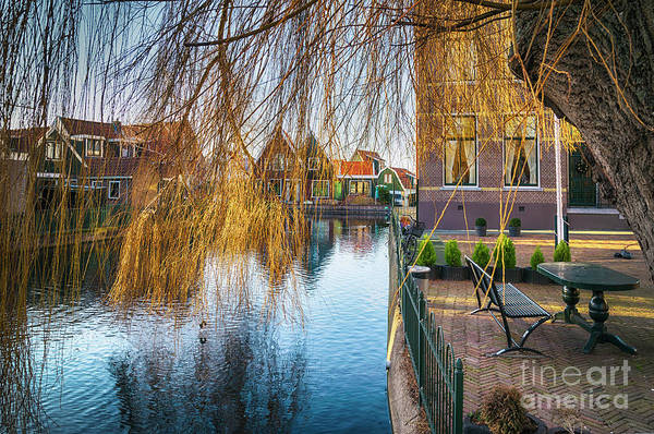 Photograph - Old Typical Dutch Village  by Ariadna De Raadt